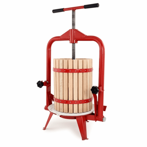 Tsm Harvest 18 L Deluxe Fruit And Wine PressFrame Style With Filter Bag, Model# 34112
