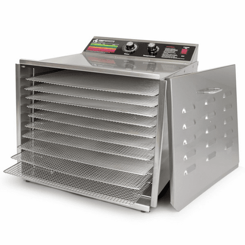 Sausage Maker D-10 Dehydrator with 10 Stainless Steel Shelves, Model# 24-1016