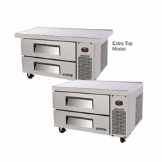 "Turbo Air 2 Drawer (36"") Ss Chef Base, Model# TCBE-36SDR(E)-N6"