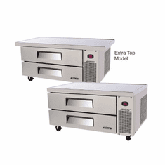 "Turbo Air 2 Drawer (48"") Ss Chef Base, Model# TCBE-48SDR(E)-N"