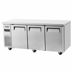 Turbo Air 3 Door Undercounter Dual Temp Ref., Model# JURF-72-N