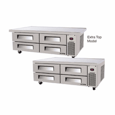 "Turbo Air 3 Drawer (72"") Ss Chef Base, Model# TCBE-72SDR(E)-N"