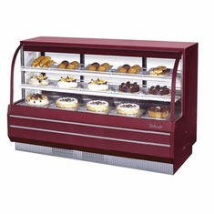 Turbo Air Curved Glass Bakery and Deli Cases