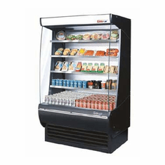 Turboair Extra Deep Vertical Open Display Merch, Model# TOM-36DXB-N
