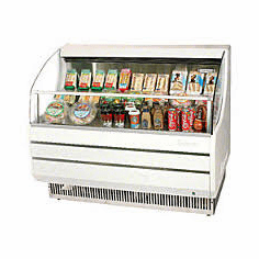 Turboair Horizontal Open Display Merchandiser12 Hp, Model# TOM-40SW-N