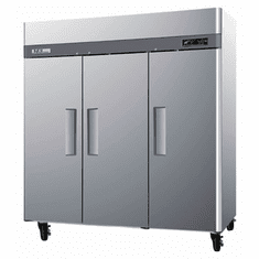 Turboair M3 Freezer Reach-In3-Section 1-14 Hp, Model# M3F72-3-N