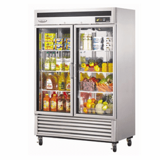 Turboair Nemaximum Glass Door Refrigerator 49 Cu Ft, Model# TSR-49GSD-N