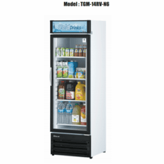 Turboair Refrigerated Merchandiser 14 Hp NSF, Model# TGM-14RV-N6