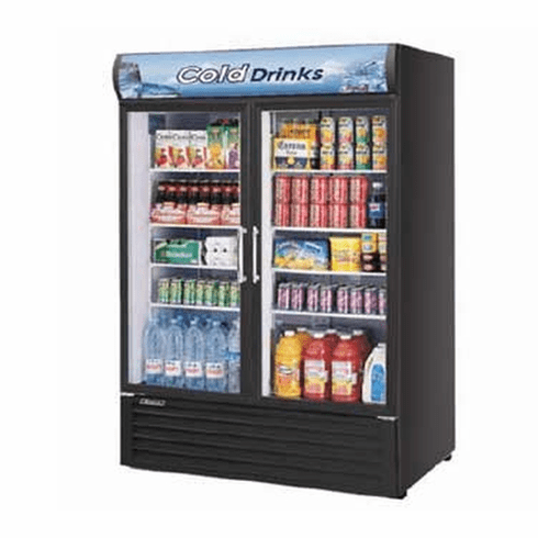 Turboair Refrigerated Merchandiser 50 Cu Ft, Model# TGM-50RS-N