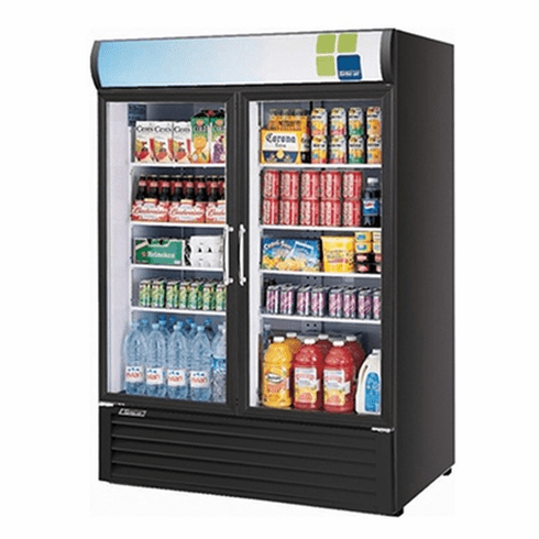 Turboair Refrigerated Merchandiser 50 Cu Ft, Model# TGM-50RSB-N