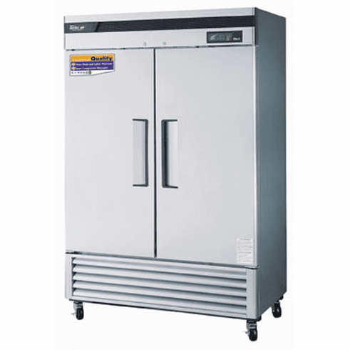 "Turboair Super Deluxe 54"" RefrigeratorTwo Section Reach-In49 Cubic Feet, Model# TSR-49SD-N6"
