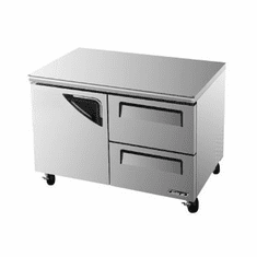 Turboair Super Deluxe Serie Undercounter Freezer, Model# TUF-48SD-D2-N