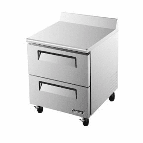 Turboair Super Deluxe Worktop Freezer 7 Cu Ft, Model# TWF-28SD-D2-N