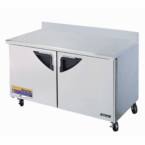 Turboair Super Deluxe Worktop Freezer Two-Section 16 Cu Ft, Model# TWF-60SD-N