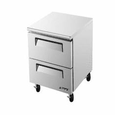 Turboair Superdeluxe Series Undercounter Freezer, Model# TUF-28SD-D2-N