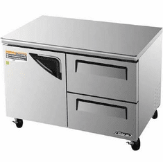 Turboair Superdeluxe Series Undercounter Fridge, Model# TUR-48SD-D2-N