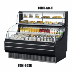 Turboair Top Display Dry Case-High, Model# TOMD-75HW