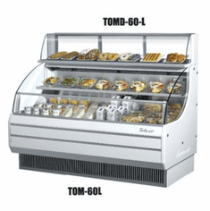 Turboair Top Display Dry Case-Lo, Model# TOMD-60LW
