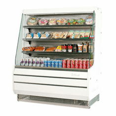 Turboair Vertical Open Display Merchandiser 1 Hp, Model# TOM-50MW-N