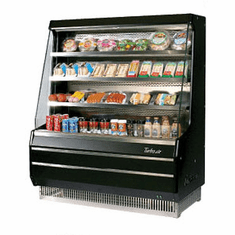 Turboair Vertical Open Display Merchandiser, Model# TOM-40MB-N