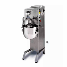 Univex 20 qt. Mixer Floor Model, 1/2 HP, 22 qt. SS Bowl - 120/60/1 Model SRMF20+