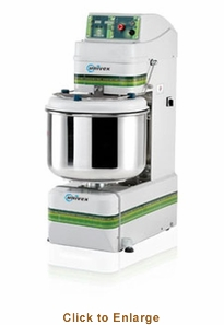 Univex Silverline Spiral Mixer w/ removable bowl (265 lbs. max capacity) 208-240/60/3 Model SL120RB