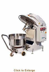 Univex Silverline Spiral Mixer w/ removable bowl (660 lbs. max capacity) 208-240/60/3 Model SL300RB