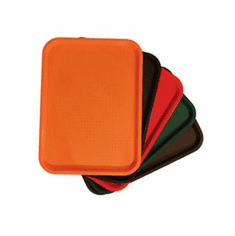 Update International Fast Food Tray 12X16 Red, Model# FFT-1216RD