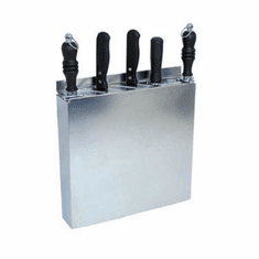 Update International Ss Knife Rack 12 Slots Fits 5 Knives, Model# KR-1212