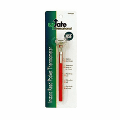 Update International Thermometer Pkt W/Red Sleeve 0 F To 220 F, Model# THP-220