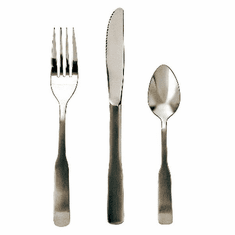 Update International Washington-Bouillon Spoon 2.0Mm Satin Finish, Model# WA-302