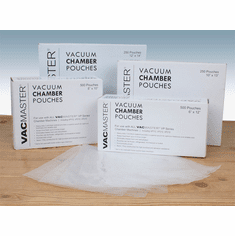 "Vacmaster Vacuum Chamber Pouches 3 MilNew(6"" X 12"")500 Per Box, Model# 40721"