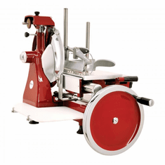 "Volano 10"" Manual Meat Slicer Fully Hand-Operated w/ Standard Flywheel, Model 20013"