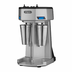 Waring Double 1 HP Spindle Drink Mixer With Timer Model WDM240T
