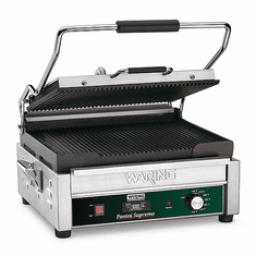 Waring Large 14.5 x 11 Panini Grill with Timer 120V Model WPG250T