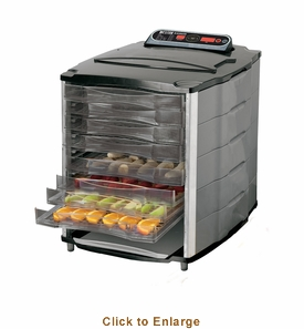 Weston 10 Tray Digital Dehydrator, Model 28-1001-w