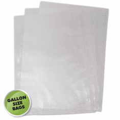 Weston 11-in X 16-in Gallon Mesh Vacuum Bags 100 Ct (Bag), Model 30-0102-K