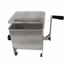 Weston 20Lb Stainless Steel Meat Mixer, Model# 36-1901-W