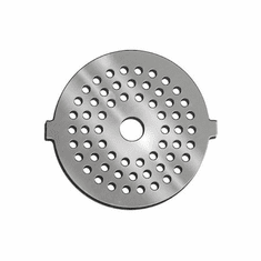 Weston 5 Electric Grinder Plate - Fine (3Mm)Stainless Steel, Model# 82-0121