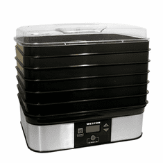 Weston 6 Tray Digital Dehydrator Model 75-0401-W
