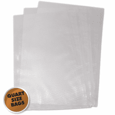 Weston 8-in X 12-in Quart Mesh Vacuum Bags 100 Ct (Bag), Model 30-0101-K