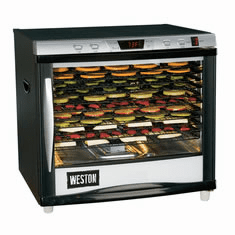 Weston Dehydrators and Accessories