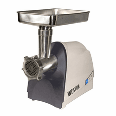 Weston Heavy Duty 8 Meat Grinder (575 Watt), Model# 33-0201-W