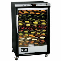 Weston Pro-2400 Dehydrator, 24 Tray (160L), Model 28-0501-w
