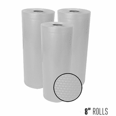 Weston 8-in X 22 ft Mesh Vacuum Rolls 3 Pk (Box), Model 30-0201-W