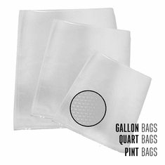 Weston Assortment Mesh Vacuum Bags 50 Ct (Box), Model 30-0107-W