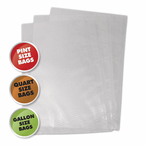 Weston Vacuum Sealer Bag Assortment - 50 Pc - Bulk Pkg, Model# 30-0107-K
