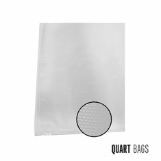 Weston 8-in X 12-in Quart Mesh Vacuum Bags 100 Ct (Box), Model 30-0101-W