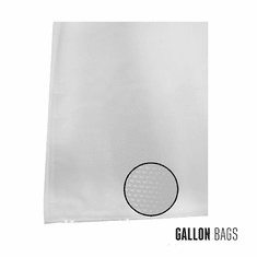 Weston 11-in X 16-in Gallon Mesh Vacuum Bags 100 Ct (Box), Model 30-0102-W