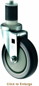 Winco Casters Fits St1 58 Or1 12 Tubing 5 Wheel 2Pc Set , Model# CT-1